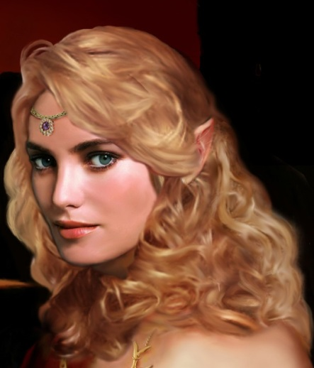 A typically unattractive elf. What do they see in them?