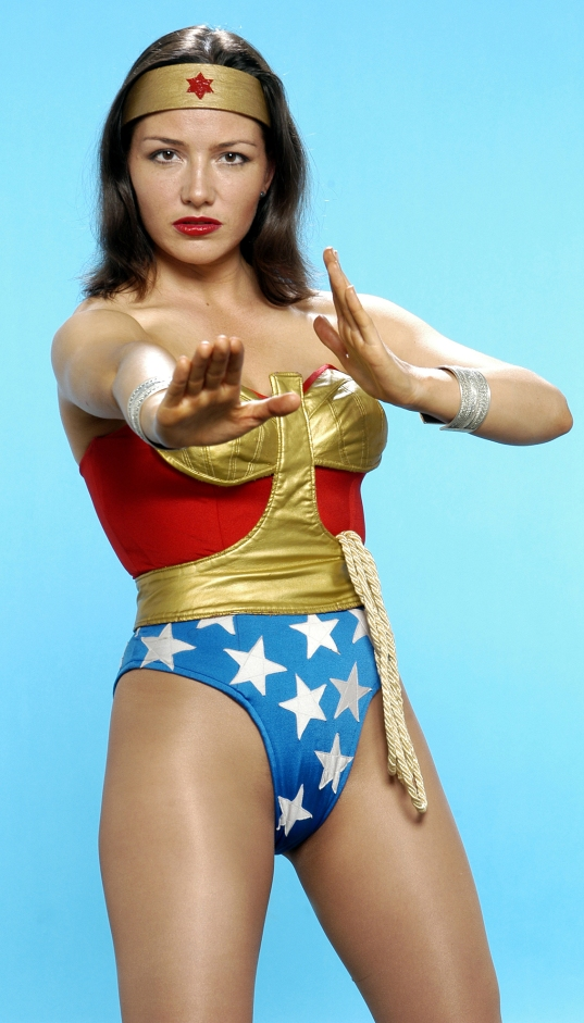 The Wonderful Tara Paulsson as Wonder Woman in 'Life and Times of a Wonder Woman'