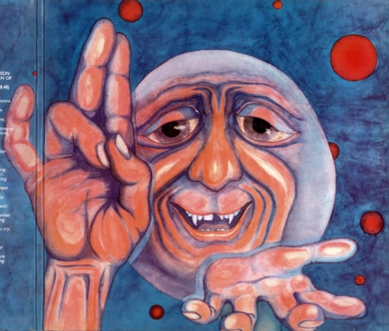 The Crimson King by Barry Godber - not by me! I never said that!