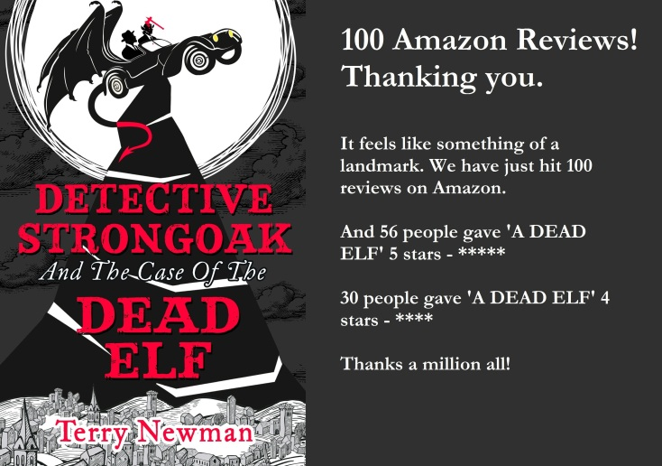 Detective Strongoak cover 100