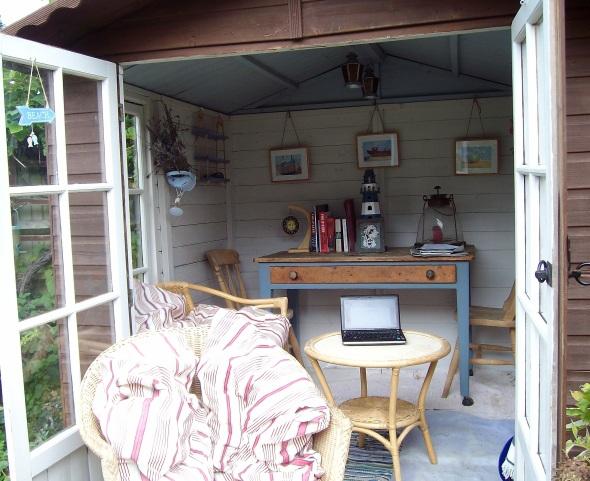 Inside the Summer office